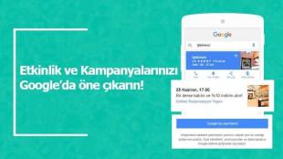 Etkinlik ve Kampanyalarınızı Google Firmanızda Gösterin