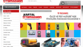 KartalOtomasyon e-Ticaret Sitesi